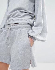 Image 3 ofMonki Jersey Sweat Shorts