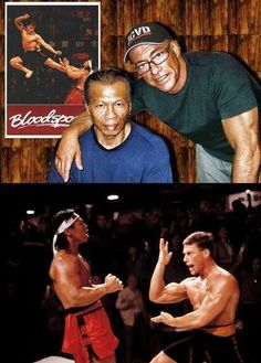 Frank Dux and Chong Li, then and now