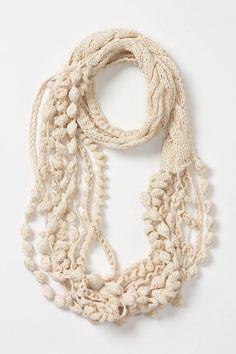 Crochet Pattern Boho Chic Infinity Scarf/ Crochet Chunky
