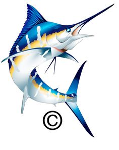 Marlin Clip Art Related Keywords & Suggestions – Marlin … – Do it yourself Ocean Art, Ocean Life, Styrofoam Art, Blue Marlin, Salt Water Fish, Fish Illustration, Underwater Creatures, Desenho Tattoo, Animal Coloring Pages