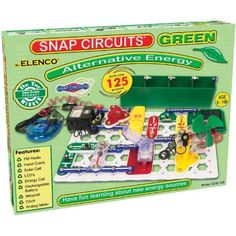 Alternative Energy Snap Circuits --  Combines environmentalism, the science of electricity, and building, all in one toy!