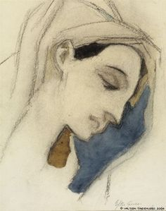 'seeking beauty' by helene schjerfbeck