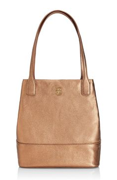 The Tory Burch Michelle tote: A polished shape with pure practicality — it's a simple, cant-go-wrong style.