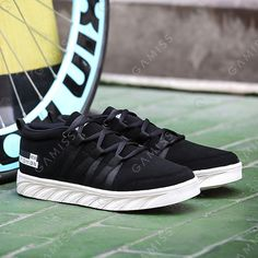 Tie Up Suede Elastic Band Casual Shoes