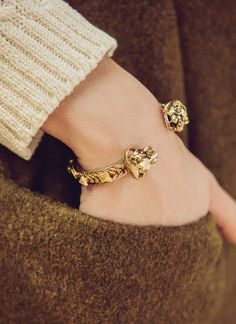 Photography: love the textures of the clothes in contrast with the jewelry...really shows off the bracelet