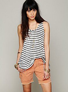 Cargo Twill Short in features-shop-by-girl-lou
