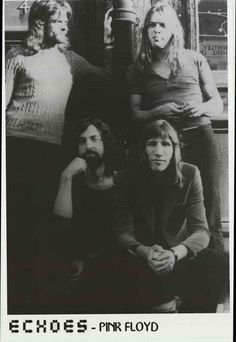 Pink Floyd is David Gilmour, Roger Waters, Rick Wright, and Nick Mason! A great…