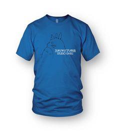a2b40454c3 Details about Studio Ghibli Logo T-Shirt My Neighbour Totoro Tee MEN S  Ponyo