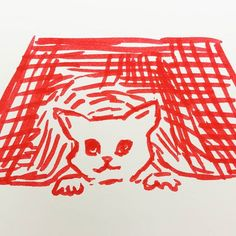 Working further on this theme in #the100dayproject #100daysofcatfluff   #createeveryday #catdrawing #illustragram #mycreativelife #makearteveryday #alittlebeautyeveryday #createmakeshare #abmcrafty #waketomake #creatinganewhabit #illustrationdaily #drawforfun #makelightmaker #acataday  #draweveryday #sketchbookart #missminoes #avibrantstyle