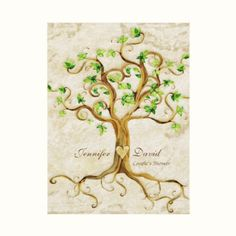 Tree of Life Wedding Invitations complete wedding ensemble available.