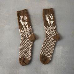 Women's Reindeer Socks