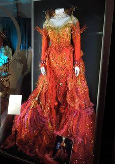 "Glenn Close - Cruella de Vil flame costume ""102 Dalmatians"""