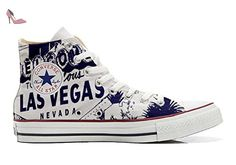 Converse Customized Adulte - chaussures coutume (produit artisanal) a Pois - size EU 39 MkqVBY13Y