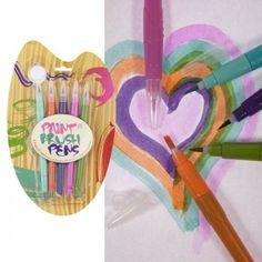 5 couleurs tropicales pour dessiner et laisser libre cours à votre créativité et ceci en toute propreté !