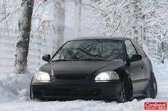 Civic matte look Black Honda Civic, Ek Hatch, Super Pictures, Civic Eg, Honda Civic Hatchback, Honda Ridgeline, Honda Cars, Honda Shadow, Honda Odyssey