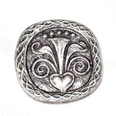 1 BOUTON de costume régional en métal   LE MINOR BRETAGNE   original button 27mm