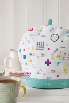 How to make a fabric tea-cosy - free sewing pattern @ Mollie Makes