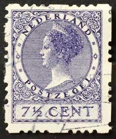 Nederland 1927 - Drie-gaats vierzijdige roltanding -