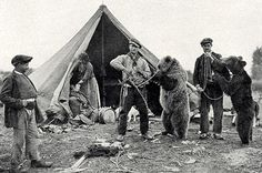 Trained Bears;  Maynard Owen Williams; December 1930; National Geographic Magazine.