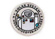 Astronaut Space Explorer's Patch - Made in USA – Ello There Print Co