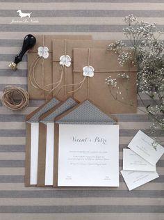 Invitación de boda de otoño.