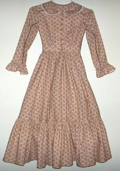 Children's Civil War, 19th Century and Victorian clothing and garments for girls.