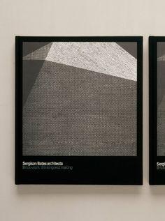 Sergison Bates architects, lovely book design by cartlidge levene (uk)
