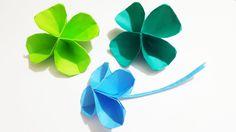 【折り紙】幸運を呼ぶ!四つ葉のクローバーの折り方・作り方