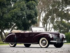 Lincoln Zephyr Continental Convertible 1940
