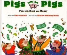 Use book to create menu with amount of money pigs found.
