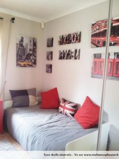 mix london new york pour la chambre de ma fille
