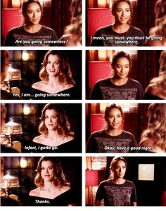 "Pretty Little Liars #PLL Season 5 Episode 11 #5x11 ""No One Here Can Love or Understand Me"" Emily and Paige"