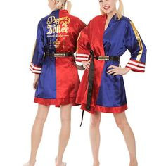 Suicide Squad Satin Robe | Last Minute Gifts For Her