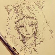 Learn To Draw Manga - Drawing On Demand Manga Drawing, Manga Art, Drawing Sketches, Art Drawings, Character Art, Character Design, Pixiv Fantasia, Studio Ghibli Art, Drawn Art