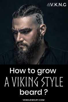 How to grow a Viking beard ? – coiffures et barbe hommes Different Beard Styles, Beard Styles For Men, Hair And Beard Styles, Long Hair Styles, Viking Men, Viking Hair, Viking Life, Beard Growth, Beard Care