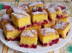 Cseresznyés joghurtos kevert sütemény