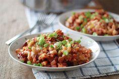 Vegetarian Chili Mac - the ultimate comfort food