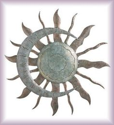 Southwest Wall Decor all types of metal sun wall decor, including abstract sunbursts