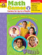 Math Games: Centers for Up to 6 Players, Grades (Level B) - Teacher Resource, Print Types Of Learners, Math Practices, Basic Math, Student Motivation, Math Skills, Math Games, Early Learning, Math Centers, Teacher Resources