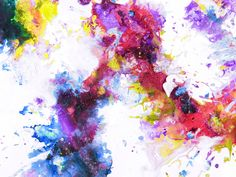 Colorful Abstract Painting Watercolor Wallpaper, Watercolor Background, Blinde, Abstract Pictures, Bipolar, Garden Planning, Free Stock Photos, Wall Murals, Design Elements