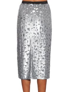 Sequin-embellished pencil skirt | Burberry London | MATCHESFASHION.COM UK