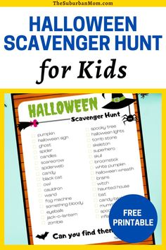 Holidays like Halloween are perfect for family activities and games! It would be a great family bonding activity. Check out the blog for an amazing Halloween activity perfect for the whole family! Take a look at the Free Printable Halloween Scavenger Hunt For Kids. This kids game idea is super interesting and perfect for the spooky season! It serves as a DIY craft, a DIY game, a toddler craft, a family bonding activity, a Halloween activity and a Halloween game all rolled into one!