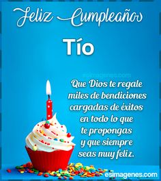 Feliz Cumpleaños tío Happy Birthday Hearts, Happy Birthday Frame, Happy Birthday Video, Birthday Frames, Happy Birthday Quotes, Happy Birthday Images, Birthday Messages, Happy Birthday Wishes, Birthday Cards