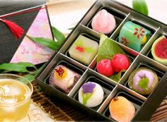 traditional japanese food | beauty of Japanese traditional sweets | creative Japan,Japanese food ...