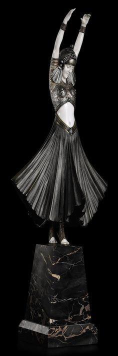DEMETRE CHIPARUS (1886-1947)   HINDU DANCER, CIRCA 1925