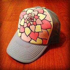 Happy Lotus Trucker Hat