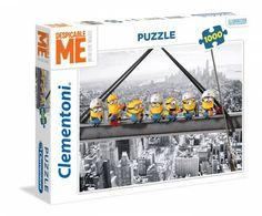 Puzzle Minions obreros en la viga ( Ref:  0000039370 )
