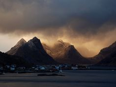 Clouds and Mountains, Norway    Photograph by Camilla Wejdemar,