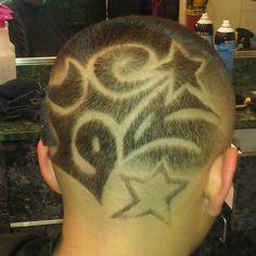 Lots of Designs in Hair