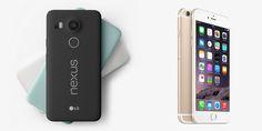 Nexus 5X vs iPhone 6s: especificações desempenho, câmera e sensor biométrico - http://www.showmetech.com.br/nexus-5x-vs-iphone-6s-especificacoes-desempenho-camera-e-sensor-biometrico/